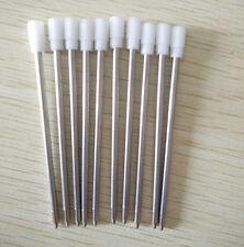 10PCS/LOT Wholesale BALLPOINT PEN REFILLS,7cm short Blue ink refill replacement
