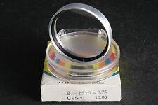 VEB Jenaer opera vetro filtro UV 49mm e M. Silb. versione; Gebr. + bonifico ti prego!