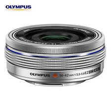 OLYMPUS M.ZUIKO Digital ED 14-42mm F3.5-5.6 EZ Silver Lens Non-retail packaging