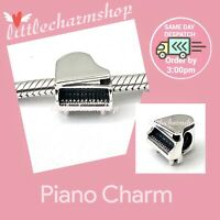 New Authentic Genuine PANDORA Sterling Silver Piano Charm - 791503 RETIRED