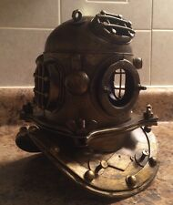 Antique Reproduction Scuba Diver's Helmet Diving Helmet Nautical Divers Diver
