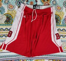 Boston University Terriers Adidas Game Used Basketball Shorts 2005 Authentic 2XL