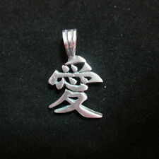 Fashion Pendant Ciondolo Anhänger PEWTER Metal Ai Love Japan Biker Hipster PB15