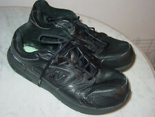 "Mens New Balance 927 ""MW927BK"" Black Walking Shoes! Size 11XXW Sold As Is!"