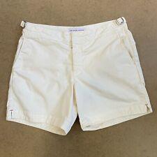 Orlebar Brown Bulldog Shorts Cotton Twill Off White 32