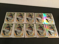 (10) 2014 BOWMAN CHROME TYLER GLASNOW REFRACTOR ROOKIE CARD LOT OF 10 HOT