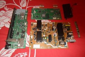 37 Sharp lcd tv part board set psu, main board, t/con 37P50E