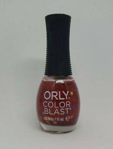 ORLY Wonder Woman Nail Polish Red Blue Glitter Gold Stars Walgreens 50222
