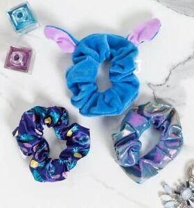 Official Set of Three Disney Lilo & Stitch Scrunchies