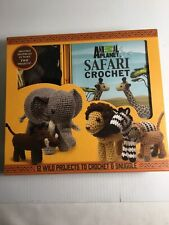 Galusz Kati-Animal Planet Safari Crochet BOOK NEW