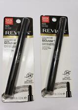 Lote de 2 Revlon Colorstay Cejas Mousse 405 Suave Negro