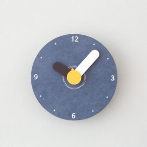 Modern Retro Wooden 'Mini' Wall Clock, Silent Quartz Mechanism