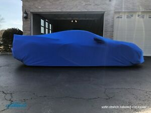 Coverking Satin Stretch Tailored Car Cover for Chevy Corvette C8 - Made to Order