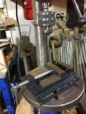 Jeu LOT292674 HEAVY CAST IRON Drill Press Vice 110 mm Ouverture Acier Jaw