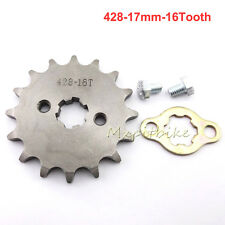 16Tooth 17mm Front Engine Sprocket Set For Chinese CRF50 XR50 Dirt Pit Bike ATV