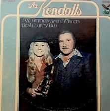 The Kendalls   1978 Grammy Award Winners Best Country Duo   vinyl Lp