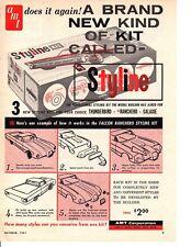 1961 AMT MODEL CARS ~ ORIGINAL PRINT AD