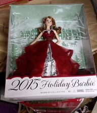 Barbie Collector 2015 Holiday Doll - Auburn hair K-Mart exclusive