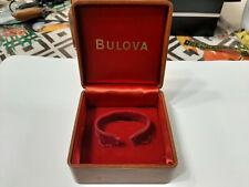 Bulova vintge scatola orologi watch box leggi descr