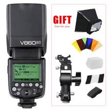 Godox V860II-C 2.4G TTL Li-ion Flash Speedlite Type D Hot Shoe Bracket for Canon