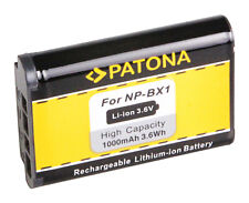 Batteria compatibile Patona 1000mah per Sony HDR-AS10,HDR-AS100V,HDR-AS15