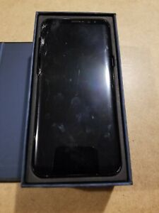 Samsung Galaxy S8+ Midnight Black 64GB AT&T AS-IS for Parts or Repair
