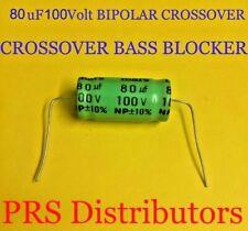 Nichicon Elko bipolar UVP1H010MDD   1uF 50V 5x11mm RM2 85° 10 pcs