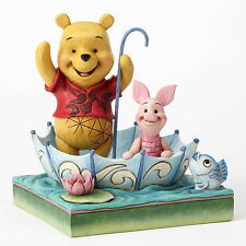 Enesco Jim Shore Disney Traditions Pooh and Piglet Sharing Nib 4054279
