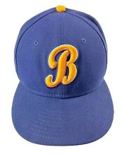 New Era Montgomery Biscuits Navy Authentic Road 59FIFTY Fitted Hat 7
