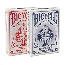 2 Decks Bicycle Cyclist Poker Playing Cards Red and Blue Brand New Decks