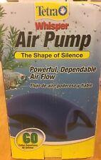 Whisper Air Pump Tetra Water Fish Tank Aquarium 10 40 60