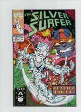 Silver Surfer #57 - Infinity Gauntlet Crossover Thanos Cover - (Grade 9.4) 1991