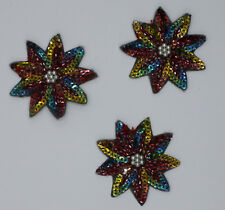 Sequin Patch: Circus Flowers