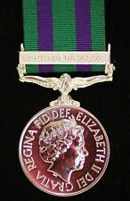 **NEW FULL-SIZE REPLICA:  GENERAL SERVICE MEDAL 2008 WITH CLASP: SOUTHERN ASIA