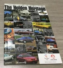The Holden Heritage 2000 Olympic Edition 1948-2000 FJ EH XU1 GTS Commodore etc
