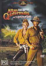 ALLAN QUATERMAIN AND THE LOST CITY OF GOLD Richard Chamberlain DVD R4 NEW - PAL