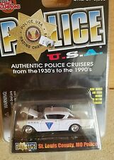 1957 Buick Roadmaster Die Cast Car Model Racing Champions New St. Louis Police
