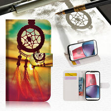 Dream Catcher Wallet TPU Case Cover For Motorola Moto X Force-- A008