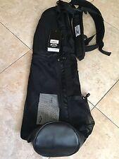New Sun Mountain XStrap Sunday Bag Black Carry Golf Bag