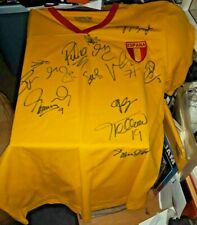 ESPANA SPAIN SOCCER TEAM SIGNED AUTOGRAPHED JERSEY +14 2010 WORLD CUP CHAMPS