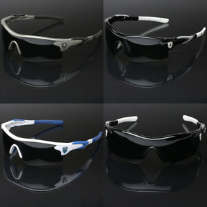Half Frame Khan Wrap Around Sport Cycling Baseball Ski Snow Board Men Sunglasses
