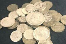 8 Ounces Oz Us Silver Coins Half-Dollar Quarters Dimes Pre-1965 No Junk Sale