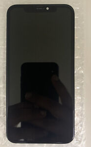 Genuine Apple iphone XR original lcd screen display with back to plate Grade A