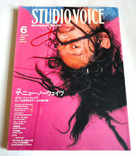 NEW NO WAVE STUDIO VOICE Japan Magazine 06/2004 Throbbing Gristle Neubauten EYE