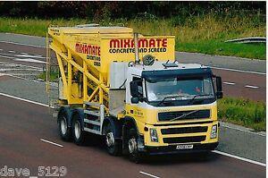 Truck Photo: MIXAMATE Concrete & Screde - VOLVO FM Conqueror - KX06 CNY