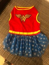 Big Dogs Wonder Woman Dog Costume Adult Large NEW No tags