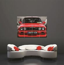 BMW M3 foto gigante de arte cartel impresión