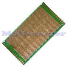 Foré Single Sided Copper Prototype PCB matrice Epoxy Fibre de Verre Planche 120x180