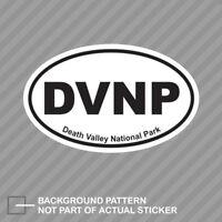 Death Valley National Park Oval Sticker Decal Vinyl Euro DVNP