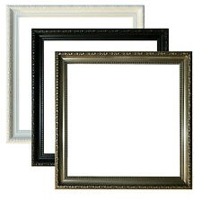 New Style Square Picture Frame Photo Frame Poster Frame Black White Gunmetal
